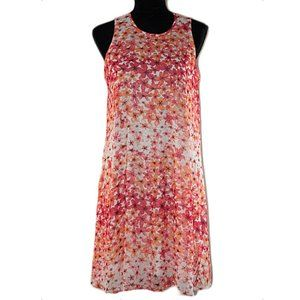 Calvin Klein Sleeveless Floral Dress Size 10